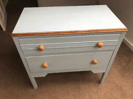 Powder Blue Chest of Drawers