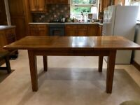 Oak Extendable Solid Dining Table (No Chairs)
