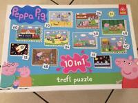 Peppa pig 10 puzzles and Ben and holly game