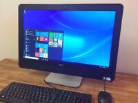 DELL 9010 - 23 inch Full HD All in One PC - HDMI - USB 3.0 - Windows 10 - WebCam Desktop PC Computer
