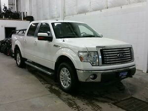 "2012 Ford F-150 4WD SuperCrew 145"" Lariat W/ LEATHER, REMOTE SRT"