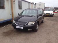 VERY CLEAN LEFT HAND DRIVE CHRYSLER VOYAGER,AIR CONDITIONED WITH FULL OPTIONS..CALL