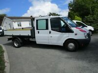2014 Ford Transit Double Cab Tipper Very low Miles