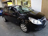 2009 VAUXHALL CORSA 1.4 CLUBE 5DOOR, HATCHBACK, SERVICE HISTORY, CLEAN CAR, DRIVES VERY NICE
