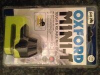 *Brand New* Oxford Mini-T Disc Lock OF49 Mini T Yellow