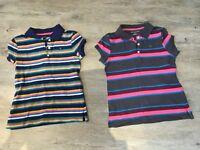 Girls Tommy Hilfiger t-shirts age 8-10 yrs
