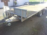 IFOR WILLIAMS LM166 3.5 TON TRAILER