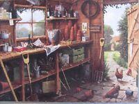 Gibsons 500 Piece Jigsaw The Garden Shed - Edward Hersey