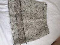 Tweed Light Grey Skirt