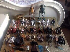 Star wars figures job lot