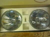 Sealed beam headlamp units for 1970 Mini clubman