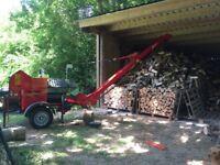 Firewood Log Processor Hire