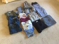 Men's clothes bundle all tops large, bottoms 36x32