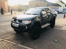 Mitsubishi L200 animal 56 plate monster truck!