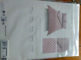 M&S Home King Size Duvet Cover & 2 Pillow Cases (new)