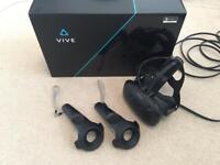 HTC Vive complete set