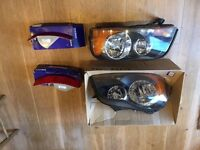 Volvo XC90 Series, 2003-2011 LHD Headlamp set for use in Europe