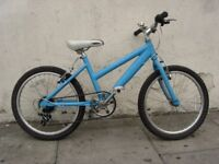 Kids Bike by Raleigh, Turquoise, Light Frame, 20 Wheels for Kids 7+, JUST SERVICED/ CHEAP PRICE!!!!
