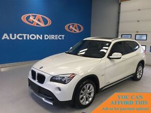 2012 BMW X1 xDrive28i (A8),AWD,AC,FINANCE NOW!!
