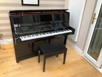 Bohemia Black Upright Piano
