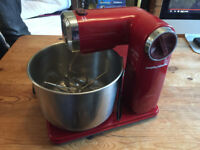 Folding Morphy Richards Red Food Mixer