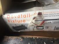 Dovetail fixture £15