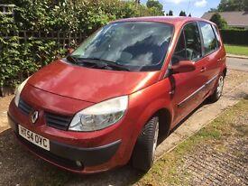 Renault Scenic - 54 plate - Petrol - 57,092 miles, manual, 12 months MOT. FSH *REDUCED*