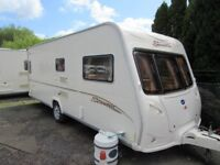 Bailey Senator Indiana Series 5 4 berth fixed bed caravan 2006
