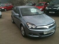 08 PLATE VAUXHALL ASTRA 1.6 SXI 3DR SPORTS HATCH 52000MILES £2975