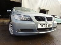 💥07 BMW 318I SE,MANUAL 2.0,MOT FEB 017,2 OWNERS FROM NEW,PART SERVICE HISTORY,STUNNING EXAMPLE💥