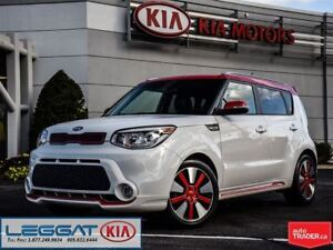 2014 Kia Soul Two-Tone Polar White/Red