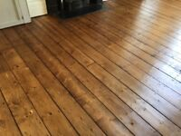 WOOD FLOOR SANDING - DUST FREE! JUST £10 PER SQ M!