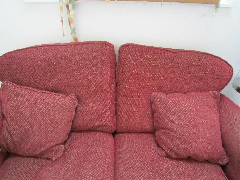 Dark red Sofa , 2 seater FREE | in Dunoon, Argyll and Bute ...