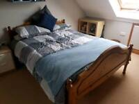 King Size Bed. Pine