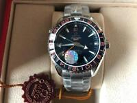 Swiss Omega PlanetOcean GMT 2836 Movement Automatic Watch