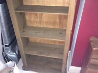 Mexican pine bookcase