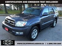 2005 Toyota 4Runner LIMITED V8 LEATHER SUNROOF - 4X4