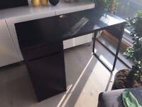 IKEA Desk MICKE L 73cm * W 50cm * H 75cm - black/brown - in Good condition - URGENT
