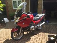 BMW R1200 RT - 18,475 miles - 2006 - burgundy
