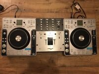 Stanton CD Decks and Mixer