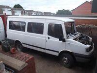 ldv minibus breaking