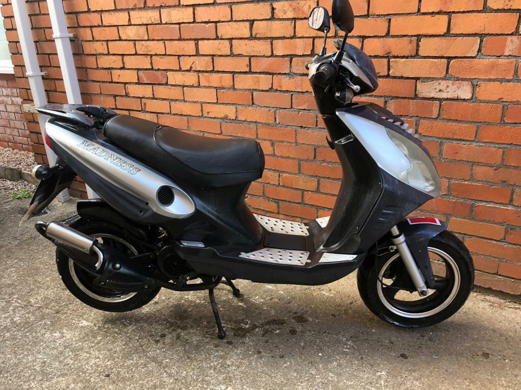 50cc scooter 2015 moped with 12 months mot | in Knowle, Bristol | Gumtree