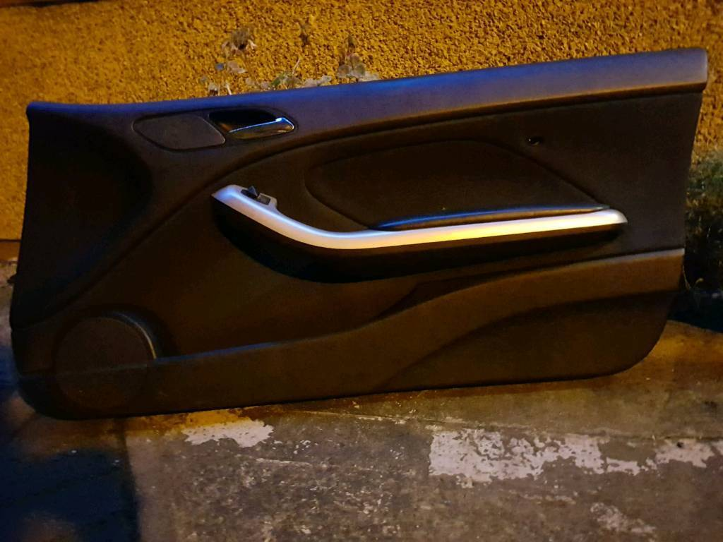 Bmw e46 coupe Passenger and drivers side door cards