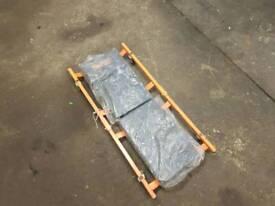 Halfords lying down board crawler board garage snap on