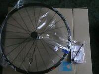 shimano cross bike wheel set new in box