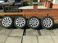 "Volkswagen t4 17"" alloy wheels fit audi"