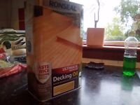 Ronseal ultimate protection decking oil natural