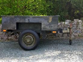 Sankey wide bodied trailer