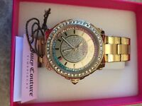 Ladies juicy couture multi stone watch