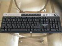 HP wireless keyboard and usb receiver